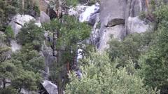 Yosemite National Park, Sierra Mountains Stock Footage