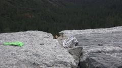 Yosemite National Park, disrespect Stock Footage