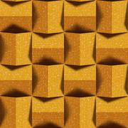 Abstract paneling pattern - seamless background - fabric surface Stock Illustration
