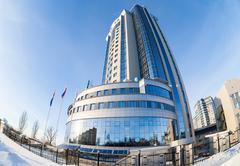 "Administrative and supervisory office of llc ""gazprom transgaz samara"" Stock Photos"