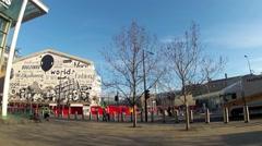 St Pancras International Railway Station, London 2 Stock Footage