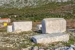 Stecak medieval tombstone Stock Photos
