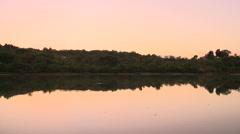 Stock Video Footage of Fiji, Viti Levu, Shore and Evening Reflection 2