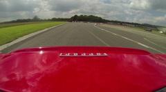Ferrari 360 onboard 2 Stock Footage
