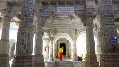 Ranakpur Temple 1 Stock Footage
