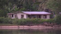 Fiji, Viti Levu, Nayawa Village, House MS - stock footage