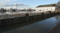 Britannia Heritage Site, High Water Stock Footage