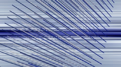 Fantastic animation with stripe object and background in motion, loop hd 1080p Stock Footage