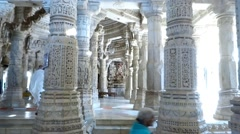 Ranakpur Temple 6 Stock Footage