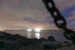 Mission Bay Night Rise timelapse-422HQ 5k 16bit Stock Footage