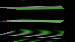 futuristic eco animation with stripe object and light in motion, loop hd 1080p - stock footage