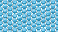 Wallpapers for Shopping,  Blue Abstract bokeh, background loop seamless Stock Footage