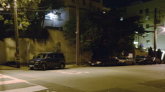 Motion Control Pan Time Lapse of Lombard St. Switchbacks in San Fran -Pan Left- Stock Footage