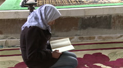 Reading of Holy Quran Stock Footage