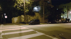 4K Motion Control Pan Time Lapse of Lombard St. Switchbacks in San Fran Pan Left Stock Footage