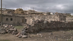 Life in Village Stock Footage