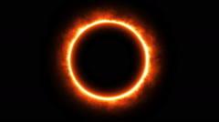 Ring of Fire, Animation Stock Footage
