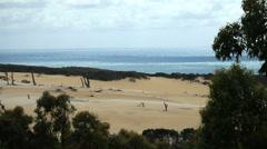 Stock Video Footage of Fraser Island scenic landscape Queensland Australia