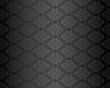 Stock Illustration of Luxury seamless black floral wallpaper