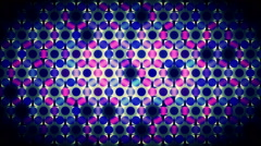 Colored Circles Background, pink, black, blue Stock Footage