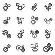 Cog Wheel Icon Piirros