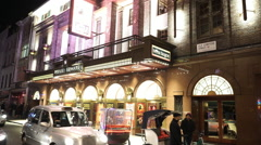 Prince Edward Theatre London playing Miss Saigon musical Stock Footage