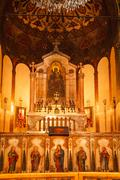armenian church interior - stock photo