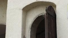 Ancient Door Stock Footage