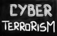 Stock Photo of cyber terrorism concept