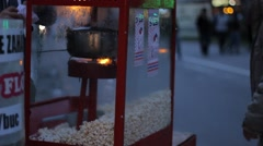 Buying PopCorn Stock Footage