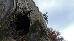 Cave Mouth Time Lapse Stock Footage