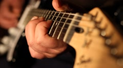 Electric Guitar Solo Master Stock Footage