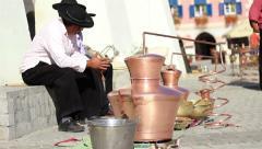 Gypsy Men Stock Footage