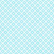 Teal and white diagonal squares tiles pattern repeat background Stock Illustration