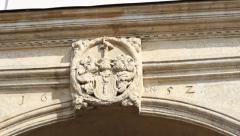 Medieval Blazon Stock Footage