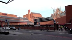 The British Library, London 13 Stock Footage