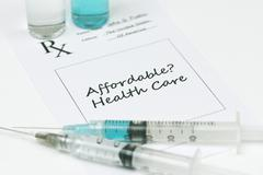 affordable healthcare - stock photo