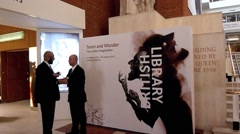 The British Library, London 16 Stock Footage