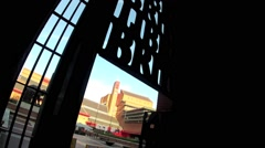 The British Library, London 3 Stock Footage