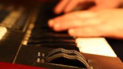 Music Keyboard Modulator Stock Footage