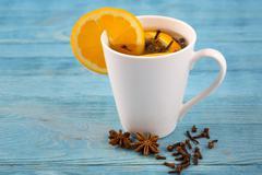 Aromatic tea with cloves Stock Photos