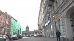 State Hermitage Museum Petersburg Stock Footage