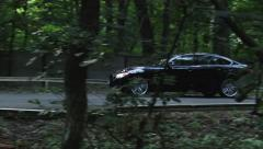 Launch control in the forest - stock footage