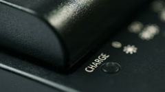 Battery Charger - stock footage