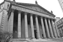 Stock Photo of The New York Supreme Court in New York City
