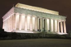 Stock Photo of Lincoln Memorial in Washington DC USA