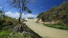 Stock Video Footage of Eli Creek Fraser Island Queensland Australia