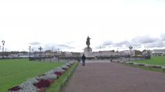 Petersburg Square Stock Footage