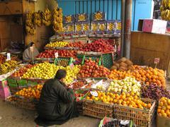 Arab Market - stock photo