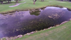 Miccosukee Golf & Country Club in Kendall Lakes area of Miami Florida Clip4 Stock Footage